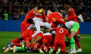 """""""ركلات الحظ"""" تؤهل إنكلترا على حساب كولومبيا الى ربع النهائي"""