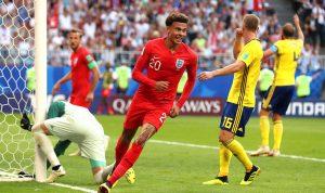 إنكلترا تعود الى نصف النهائي بعد 28 عاما!
