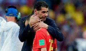 أول تعليق لمدرب إسبانيا بعد الهزيمة