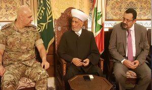 دريان: الجيش ضمان أمن لبنان واستقراره