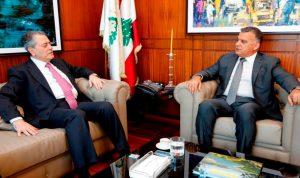 إبراهيم بحث مع السفير السوري في أوضاع النازحين