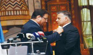 وسام شرف فرنسي للواء إبراهيم