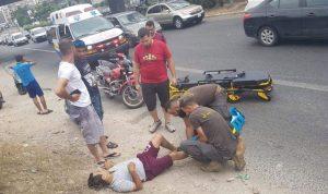 جريح بحادث سير على أوتوستراد جونية