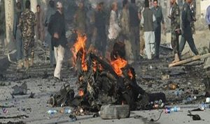 قتلى وجرحى في تفجير انتحاري شرقي أفغانستان