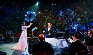 بالفيديو: لمَ توقفت أحلام عن الغناء في حفلها بالأردن؟