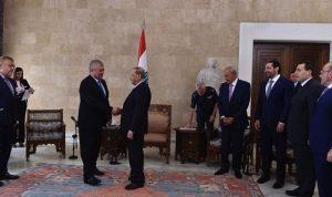 موقف لبناني موحد تجاه المبادرة الروسية