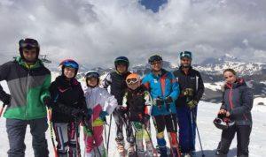 من بشري الى فال ديزير الفرنسية… للتزلج