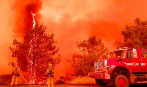 أكثر من 1000 مفقود جراء حريق كاليفورنيا