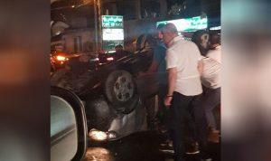 4 جرحى بحادث سير في حالات