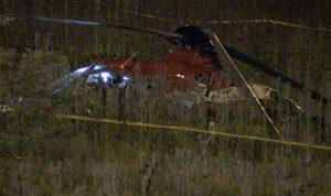 تحطم هليكوبتر طبية في شيكاغو