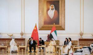 الرئيس الصيني في الإمارات لبحث التعاون بين البلدين