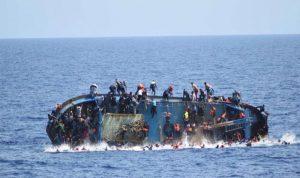 انتشال امرأة وجثتين من البحر المتوسط