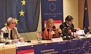 التقرير النهائي لبعثة الاتحاد الأوروبي عن الانتخابات