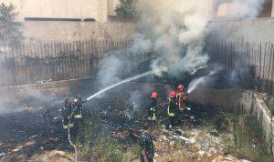 حريق داخل شقة سكنية في البوار