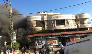 انفجار نحو 50 قارورة غاز في كفرتبنيت
