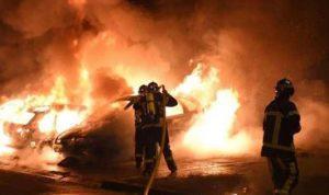 إحراق 845 سيارة وتوقيف 508 في فرنسا
