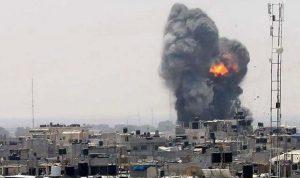 مقتل طفلين جراء القصف الإسرائيلي في قطاع غزة