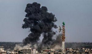 """غارات اسرائيلية هي الأكبر على غزة منذ """"الجرف الصامد"""""""
