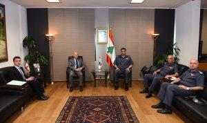 عثمان تابع مقررات مؤتمر روما 2 مع السفير الإيطالي