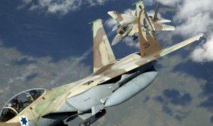 الجيش: 4 طائرات اسرائيلية خرقت الأجواء اللبنانية