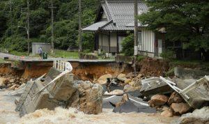 حصيلة ضحايا الأمطار في اليابان إلى ارتفاع