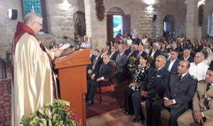 قداس احتفالي بيوبيل تأسيس كنيسة مار مارون في جزين