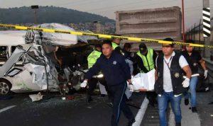في مكسيكو… 13 قتيلا بحادث سير
