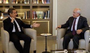 سليمان بعد لقائه ساركوزي: الاستراتيجية الدفاعية تعزز النمو