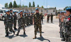 قائد قوات اليونيفيل التقى السلطات المحلية