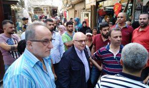 كبارة تفقد سير أعمال المشاريع في طرابلس
