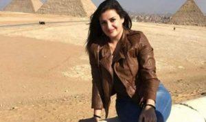 اللبنانية منى المذبوح تنهار في سجن القاهرة