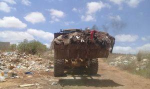 أزمة النفايات في النبطية مستمرة