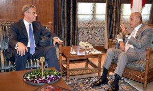 بري عرض مع نائب رئيس البنك الدولي الوضع الاقتصادي