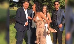"""بالفيديو – نادين الراسي في حفل زفاف: """"غسان"""""""