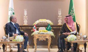 وزير الداخلية السعودي: نحرص على استقرار لبنان