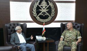 قائد الجيش عرض الأوضاع العامة مع سعد