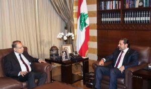 السفير المصري بعد لقائه الحريري: حريصون على استقرار لبنان
