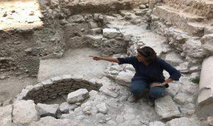مكتشف اثري مهم في صيدا القديمة