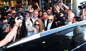 """بالفيديو والصور – شاكيرا في بيروت: """"مرحبا لبنان"""""""