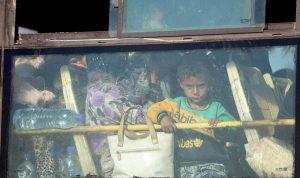وصول 2800 مقاتل ومدني إلى حماة