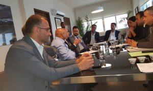 تيمور جنبلاط تابع قضية ملف الكهرباء في الشوف