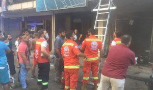 في طرابلس… 15 حالة اختناق بسبب حريق