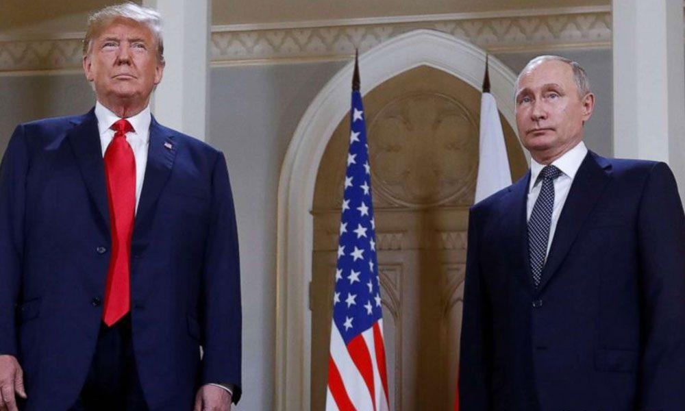 لغة الجسد تفضح بوتين وترامب... الود بينهما غائب