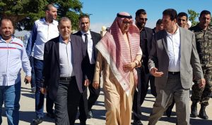 البعريني: نتطلع لعلاقات مميزة مع السعودية
