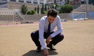 المحافظ شبيب في ملعب بيروت البلدي 