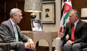 الملك الأردني: على المجتمع الدولي تحمل مسؤوليته تجاه اللاجئين