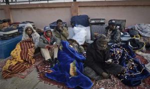 """""""قلق بالغ"""" لأوضاع المهاجرين المحتجزين في ليبيا"""