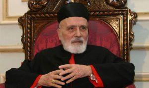 مجلس كنائس الشرق الأوسط نعى البطريرك صفير