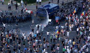 بالصور: تظاهرات ضد الفساد في رومانيا