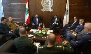 الصراف استقبل كالوت: لبنان يرفض المساس بسيادته